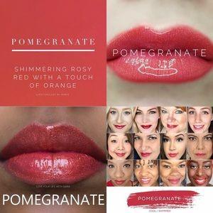 LipSense Pomegranate Lip Color